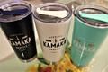 現品限り!各色1個!h2go Hawaii KAMAKA ステンレスタンブラー(592ml)