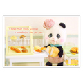 ポストカード 050 [#118パンダのパン屋さん]