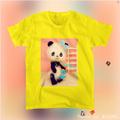 Tシャツ(レトロパンダ)