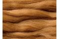 植毛ストレート ダークレッド ハマナカ リアル羊毛フェルト