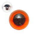 13.5mm  プラスチックアイ クリスタルカラー  クリスタルアンバー