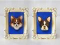 オーダーメイド「犬と猫の肖像」