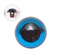 13.5mm  プラスチックアイ クリスタルカラー  クリスタルブルー