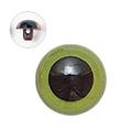 13.5mm  プラスチックアイ マットカラー  グリーン