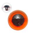 15mm  プラスチックアイ クリスタルカラー  クリスタルアンバー