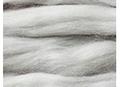 植毛ストレート シルバー ハマナカ リアル羊毛フェルト