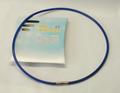 健康ネックレス 首用シリコン製 サイズ S・M・L・F(青)