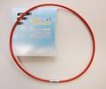 健康ネックレス 首用シリコン製 サイズ S・M・L・F(赤)