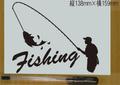 Fishing 釣り カッティングステッカー◆3 釣りFishing