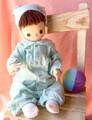 お着替え人形    (水色系)