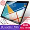 10.1Inch Octa Core 8G + 512GB Andoid 8.0 WiFiタブレットPC 2560 * 1600 IPSスクリーンタブレットは、デュアルSIMカードHDカメラ4G
