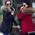 6色高品質冬ダウンジャケット/女性ロングコート/暖かい服