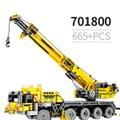 665PCS Sembo 701800モービルクレーンMK IIセットモデル