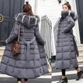 冬の女性' sダウンコート2018新しい服綿パッド入り肥厚ダウン冬コートロングジャケットダウンパーカープラスサイズM-3XL