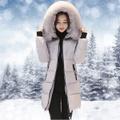 『目玉商品』冬のカジュアルなフード付きダウン綿パッド入りジャケット