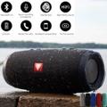 ポータブルIPX7防水屋外ハイファイコラムブルートゥーススピーカー/ステレオサブウーファー低音スピーカー
