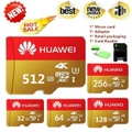 2019 new Huawei high speed 2PCS 512GB 256GB 128GB 64GB USB drive Micro SD Micro SDHC Micro SD SDHC card 10 UHS-1 4K TF memory card + card reader