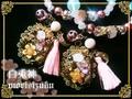 神使シリーズ/白兎神ブレスレット&ファスナーチャームセット