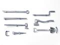 M4シャーマン 金属製工具セット (固定具付)