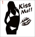 SEKI-01:SexyGirl KissMe!! (セクシー・キスミー)ステッカー
