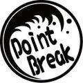 NAMI-2-2:PointBreak  (サーフィン)ステッカー(2マーク1セット)