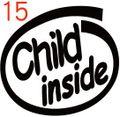 INO-015:Child inside ステッカー(2マーク1セット)