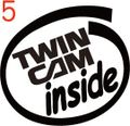 CIO-005:TwinCam inside ステッカー(2マーク1セット)