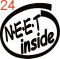 INO-024:N・E・E・T inside ステッカー(2マーク1セット)