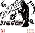 NUKE-G1:脱原発(原発反対・核廃棄) No NUKES!! ステッカー