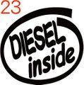 CIO-023:DIESEL inside ステッカー(2マーク1セット)