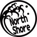 NAMI-1-5:NorthShore  (サーフィン)ステッカー(2マーク1セット)