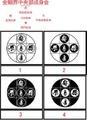BONJ-005:金剛界中央部成身会・M 梵字 ステッカー