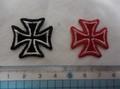 刺繍ミニパッチ Iron cross