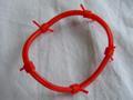 有刺鉄線ラバーリング赤