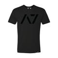 A7フィットネスTシャツ 黒/黒【送料360円発送可能】