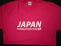 オリジナルJAPAN Tシャツ(ピンク、赤、パープル)【送料360円発送可能】