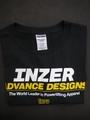 INZER-Tシャツ-ブラック【送料360円発送可能】