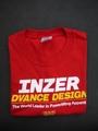 INZER-Tシャツ-レッド【送料360円発送可能】