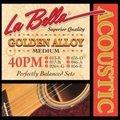 La Bella ラベラ 40PM 13-56 Golden Alloy Medium アコースティックギター弦 900円