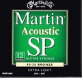 MSP3600 12弦 Martin ( マーチン ) 10-47 EXTRA LIGHT 80/20 BRONZE  1250円