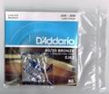 EJ62 ダダリオ D'Addario 850円 10-34 Mandolin 80/20 Bronze / マンドリン弦