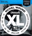 EXL148 D'Addario ダダリオ 12-60 XL Nickel Wound Extra Heavy 680円