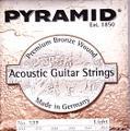 PYRAMID Strings ピラミッド No.327 Light 12-52  Premium Bronze  1850円