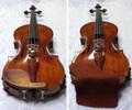 セーム革製 バイオリン用あご当てカバー(ガルネリモデル用) ブラウン