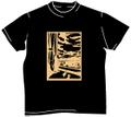 「夕暮れ」Tシャツ(黒)