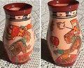 手描きの花瓶