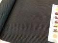 米沢木綿 KIPPE 縞 黒×青ライン