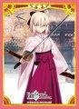 キャラクタースリーブ Fate/Grand Order「セイバー/沖田総司」