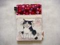 猫ポケ付きパスケース 《B-03》