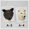 【初販限定価格】羊毛/狼/フレーム 3-4